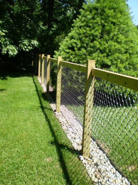 Channel Guard Fence